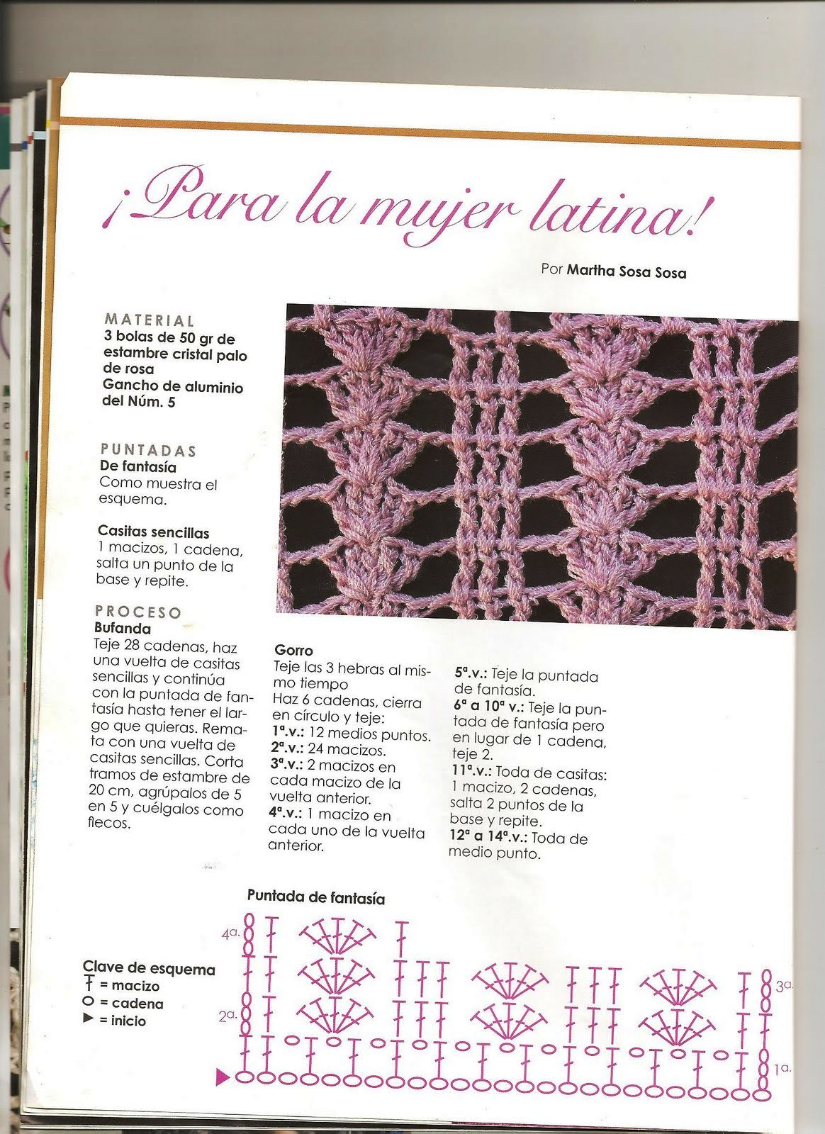 Lujo Patrón De Crochet Bufanda Twirly Ornamento - Ideas de Patrones ...