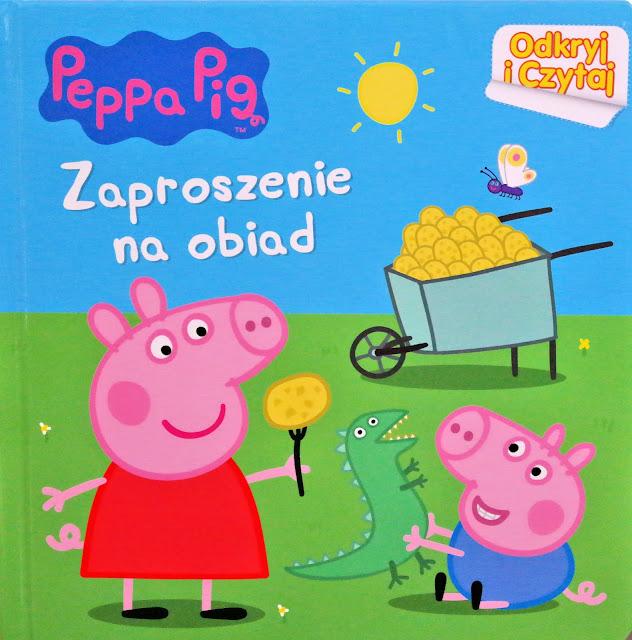świnka peppa książka z grubymi kartkami