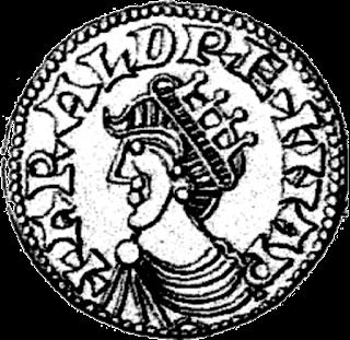 Moneda de Harald III de Noruega