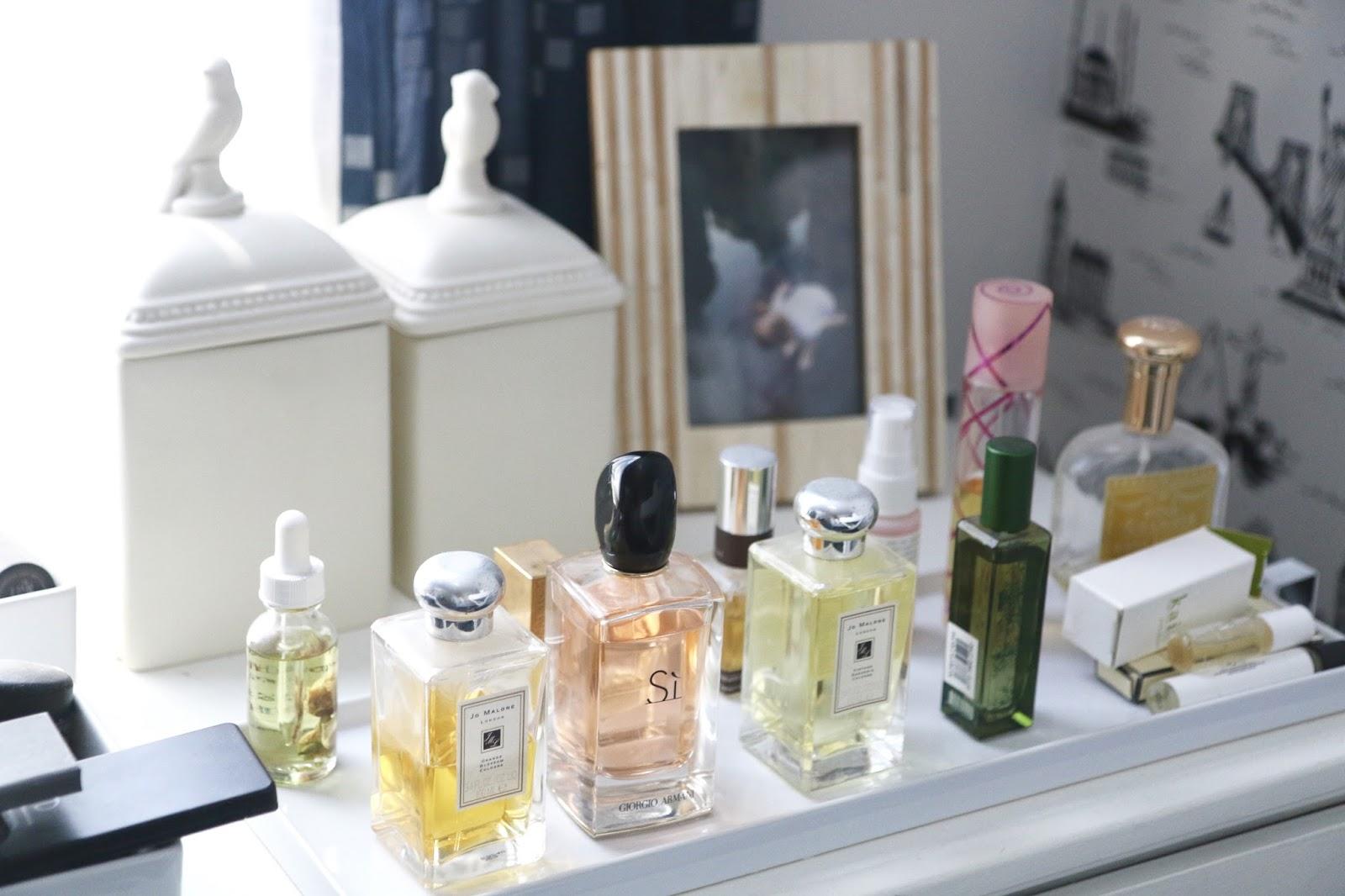 closet tour, blogger closet, home office, girly office, white desk, ikea closet wardrobe, bellacor, vanity, makeup organization