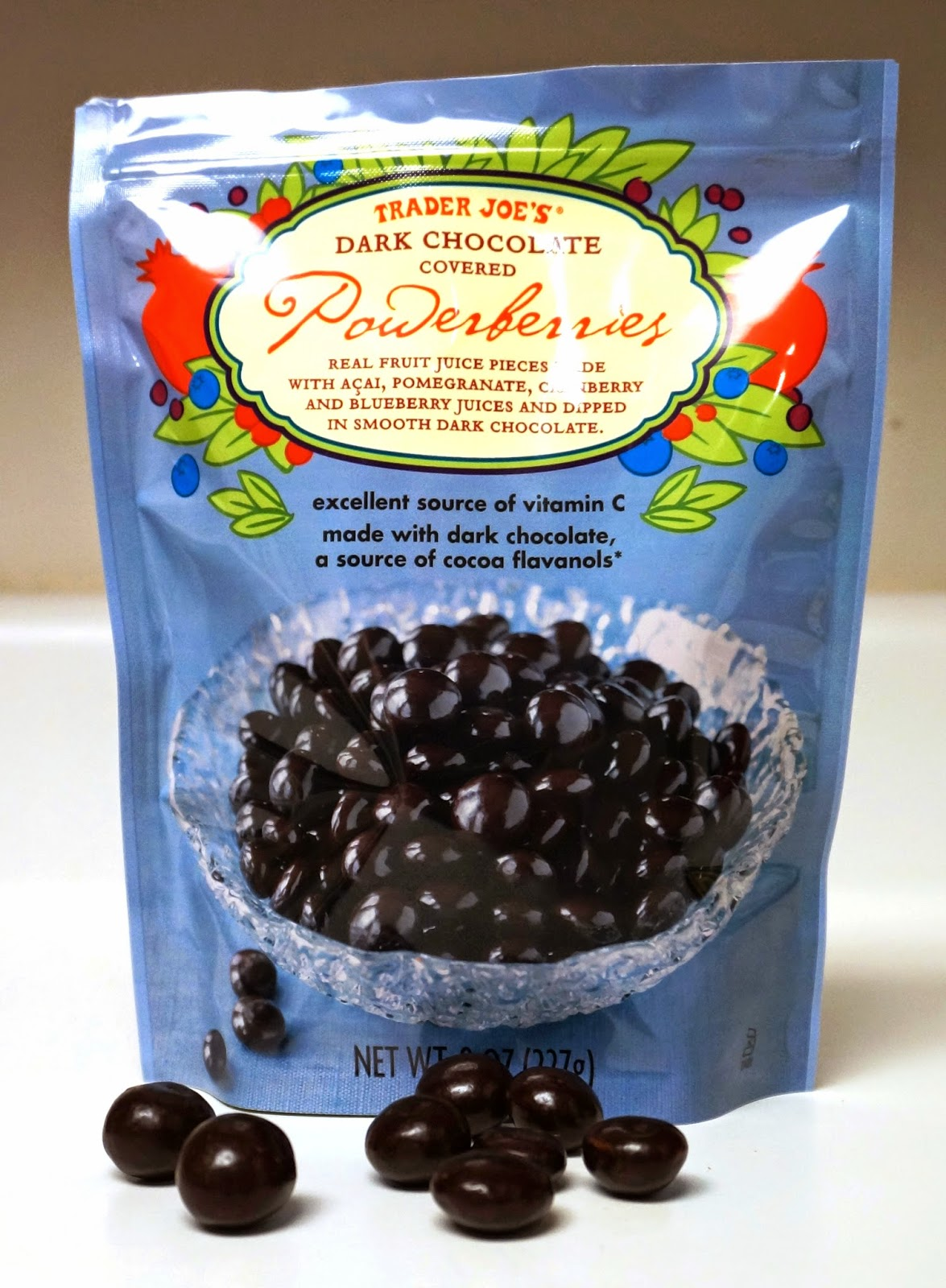 Trader Joes Dark Chocolate Covered Powerberries
