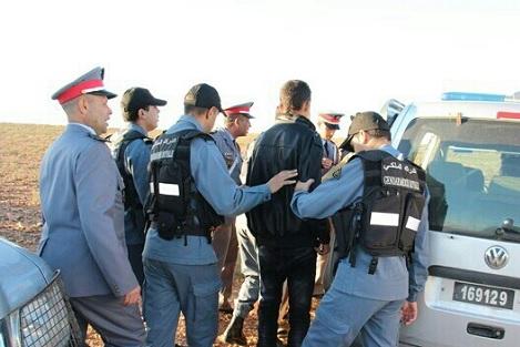 درك سطات يضع حدّا لنشاط تاجر مخدّرات بالبروج