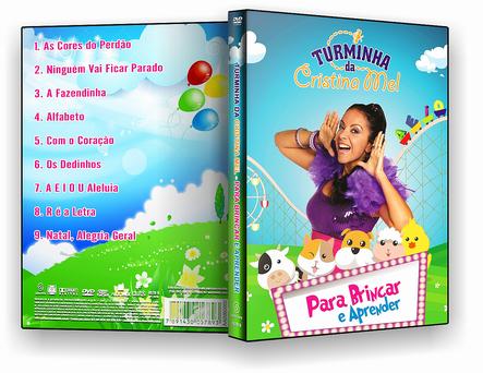 DVD - Turminha da Cristina Mel Para Brincar E Aprender - ISO