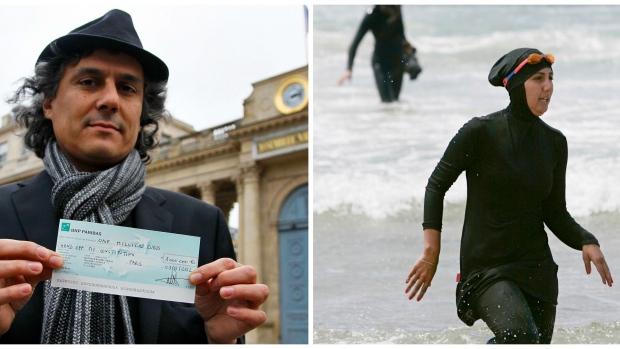 Menjadi Pahlawan, Pria Ini Membayar Semua Denda Untuk Burkini Di Perancis