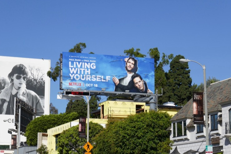 Living With Yourself TV series billboard