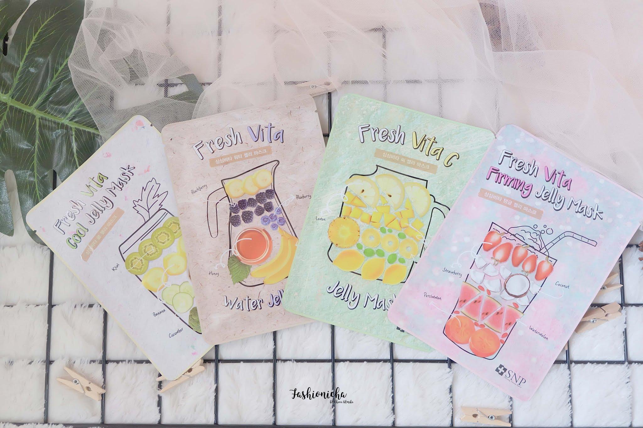 [Review] SNP Fresh Vita Jelly Mask