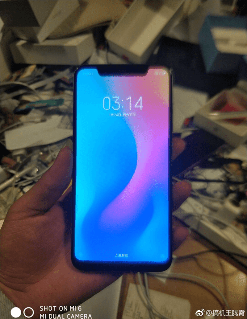 Xiaomi Mi 7 to come with a BIG notch on top?