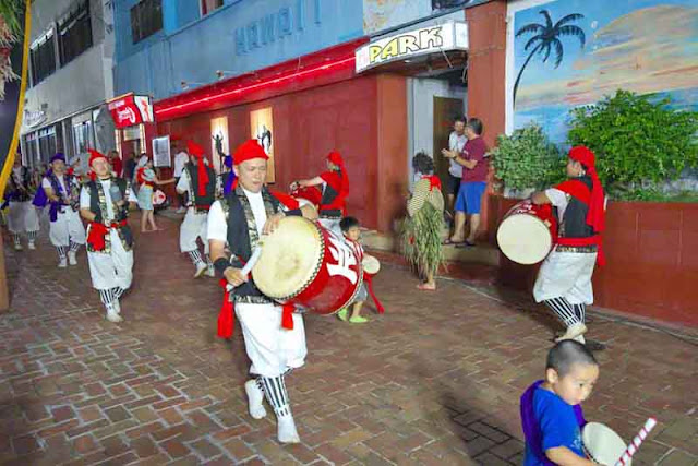 culture, dance, drums, Eisa, Okinawa