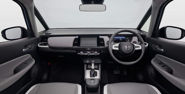 Novo Honda Fit 2021 - interior - painel