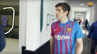 لبس برشلونة الأساسى الجديد لموسم 2021/2022