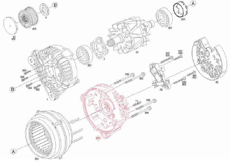 Bosch Alternator Diagram