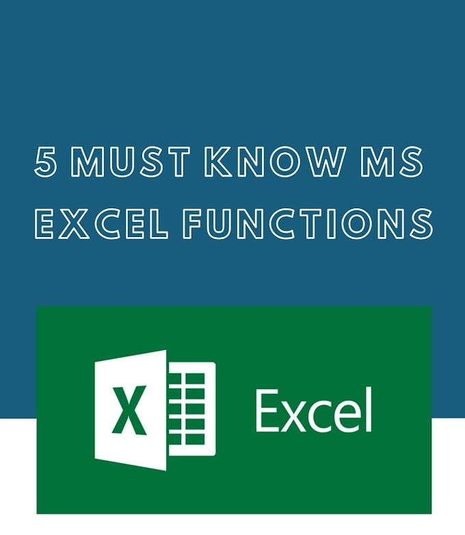 5 MS Excel Tips and Guides That Might Help You Get Hired