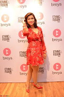 Mannara Chopra in deep neck Short red sleeveless dress Cute Beauty ~  Exclusive Celebrities Galleries 061.JPG