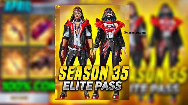 Elite Pass Season 35 Free Fire 2021