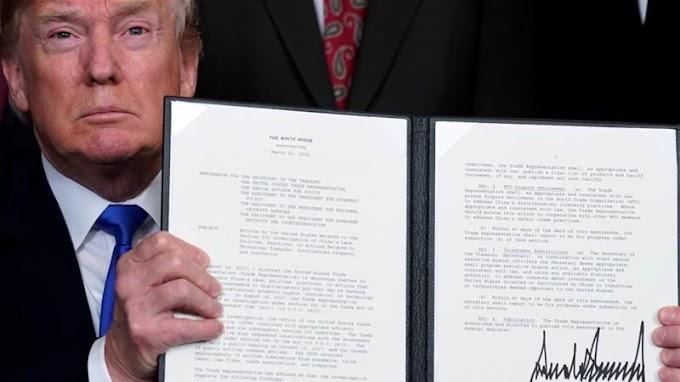 Trump orders tariffs on $50 billion worth of Chinese goods