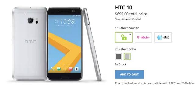 مراجعة هاتف شركة اتش تي سي HTC 10