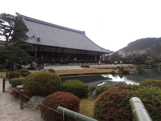 El templo Tenryu-ji, con su precioso jardín