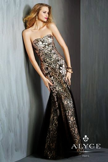 New Party Wear Prom Dresses For Young Girls By Alyce Paris From 2014