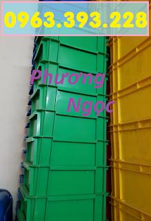 Thùng nhựa đặc B7 có nắp, hộp nhựa cơ khí, khay nhựa đặc 4747395062b680e8d9a7