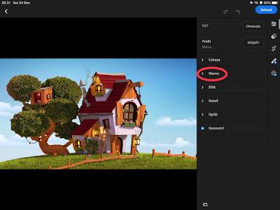 Adobe Lightroom Selective Colour