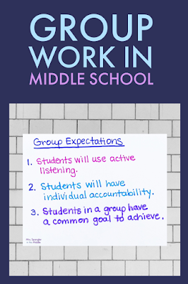 Clear expectations for group work make for a much more successful experience with project-based learning.
