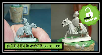 Stretch Goal 3 - Mounted Armored Sergeant with Mace