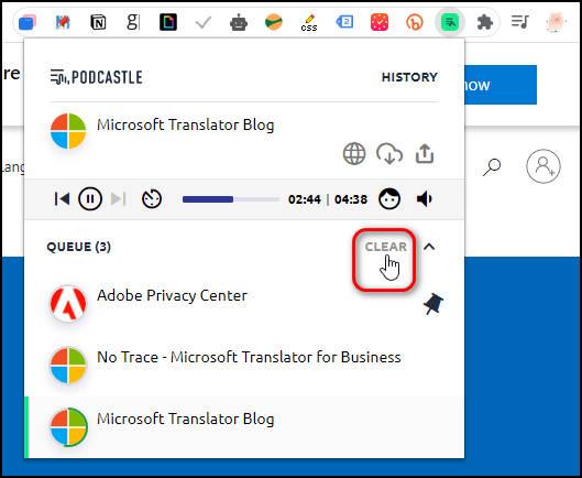 Podcastle AI:瞬間把網頁文章轉換為Podcast音檔做下載分享(Chrome / Edge 擴充功能)