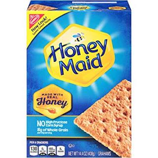 Box of Honey Maid graham crackers
