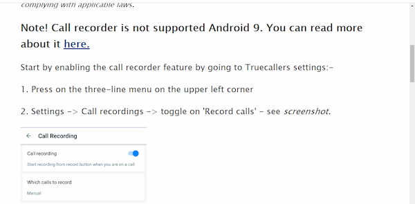 تحميل برنامج تسجيل المكالمات تلقائياً للاندرويد