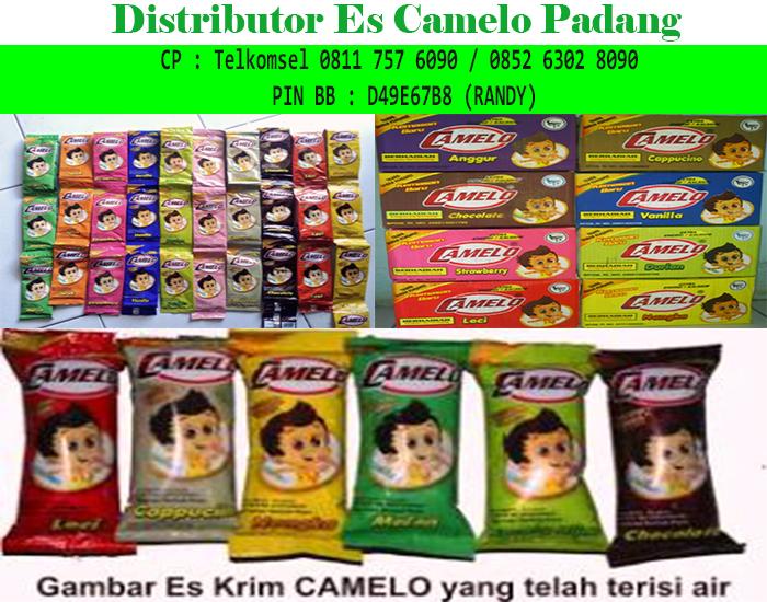 Distributor Es Camelo Padang Sumatera Barat