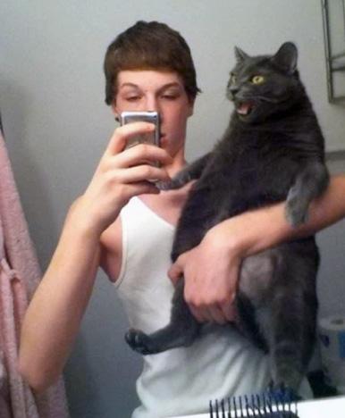 ridiculous selfies