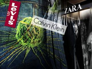 Καρκινογόνες ουσίες σε ρούχα των Zara, Calvin Klein, Levi's, Li Ning