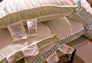 How to make your own Homemade Wedge Pillow.