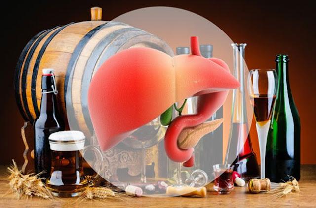 Tác dụng của thuốc bổ gan với những người nghiện rượu
