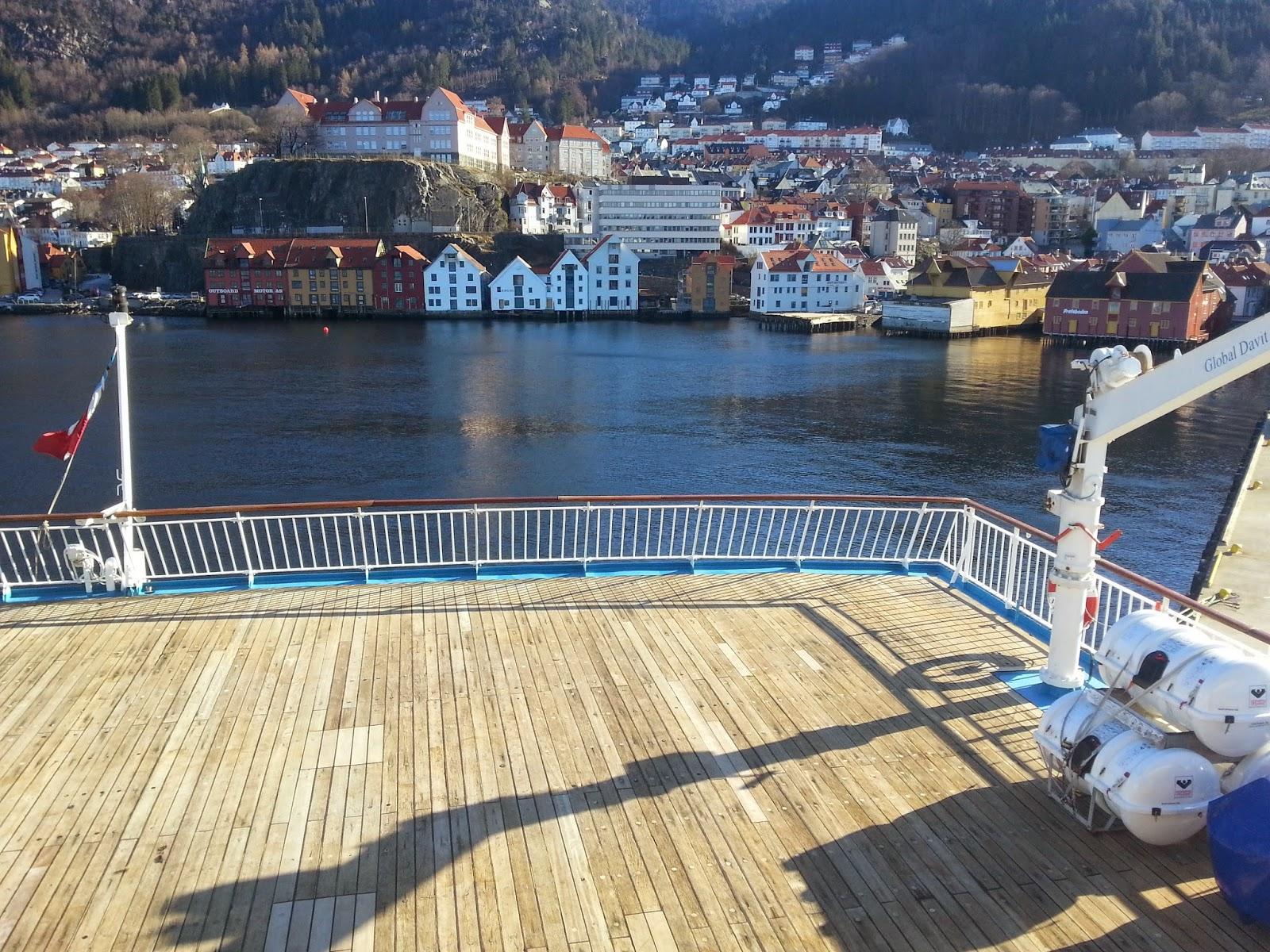 MV Voyager Cruise Ship CMV Bergen Norway Fjord Cruise