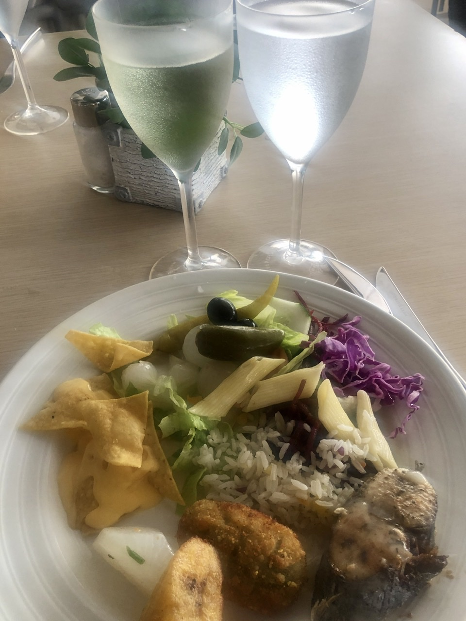 Luxury Bahia Principe Buffet Lunch Food