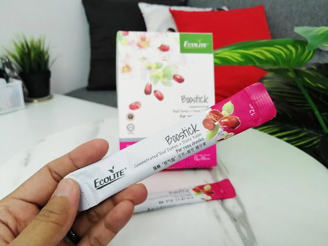 Ecolite Boostick Suplemen Untuk Kecantikan Kulit, Tingkatkan Tenaga dan Atasi Masalah Mata Letih