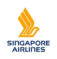The logo of Singapore Airlines