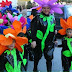 disfraz de flor para niños escolares