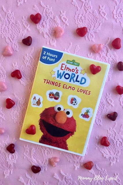 Sesame Street Elmos World Things Elmo Loves DVD Giveaway