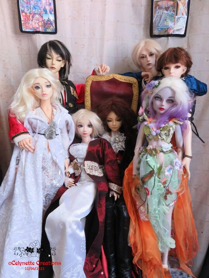 Fairie Team2-Ts en Hanfu / in 2 wood / queen & Tora / family Diapositive5