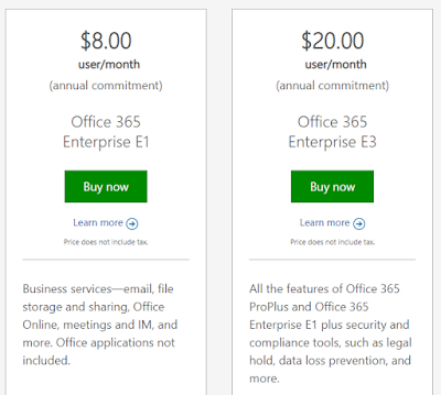Cloud, Planuri Office 365, Microsoft Cloud