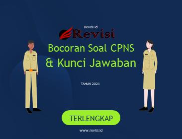 Bocoran KUNCI Soal CPNS INDONESIA Terlengkap Terbaru Dan Teruji