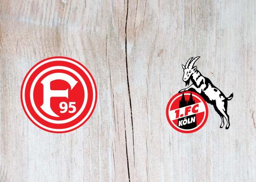 Fortuna Dusseldorf vs Köln -Highlights 3 November 2019
