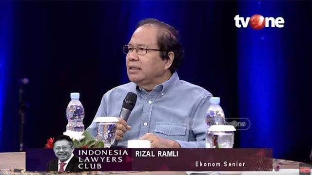 Rizal Ramli Blak-blakan Kritik Ekonomi di Depan Jubir Jokowi: Kayak Petinju Kebanyakan Utang