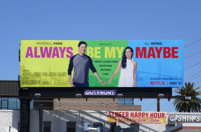 Always Be My Maybe movie billboard