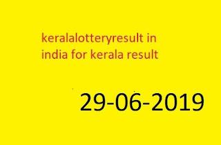kerala lottery online results  kerala lottery result chart