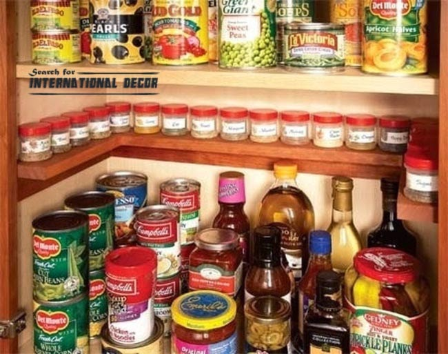 Shelf For Spices Organizing Small Apartment Space Saving Ideas
