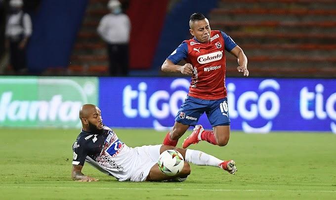 Foto a foto: Así se vivió el vibrante choque entre Independiente Medellín y Junior, en el Atanasio Girardot