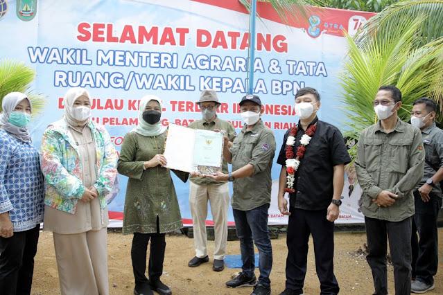 Rudi Gesa Penyelesaian 37 Kampung Tua di Batam